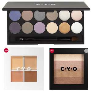 Half Price CYO Make Up Pallettes From £2.50 to £3.75 - Delivery £3.50 / Free Over £30 @ Boots