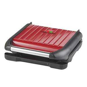 George Foreman Medium Red Steel Grill 25040 £30 (or £25 with code) @ Amazon