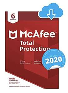 McAfee Total Protection 2021 6 (six) device - Activation code by email - £14.99 @ Amazon