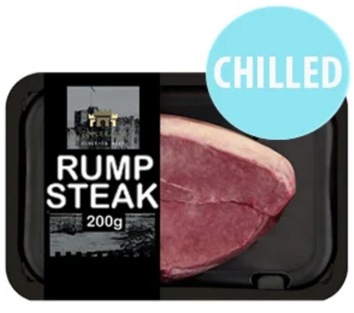 200g (7oz) Rump Steak - £1.99 @ Farmfoods