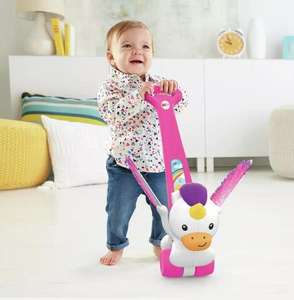 Fisher-Price Push and Flutter Unicorn Now Reduced to £10 + £3.50 Delivery From Argos