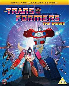 Transformers the Movie (1986) Blu-ray (remastered from 4K source) - £6.99 (+£2.99 Non Prime) @ Amazon