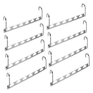 M&W Space saving wardrobe hangers (set of 8) for £6.99 delivered using code @ Roov