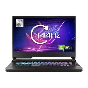 """ASUS ROG G15 15.6"""" Gaming Laptop FHD IPS 144Hz, i7-10750H, RTX 2070, 16GB RAM, 512GB SSD - £1178.99 delivered at Scan"""