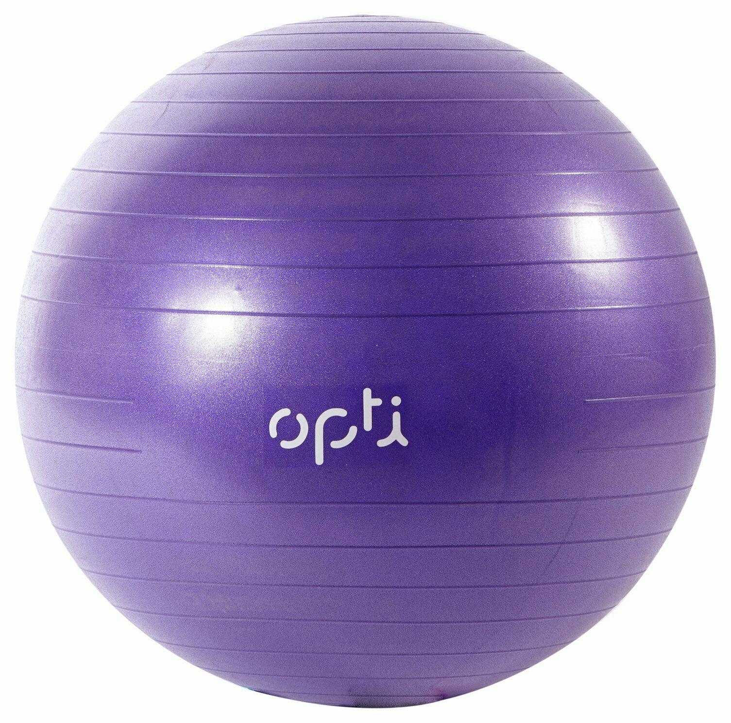 Opti Purple Gym Ball - 65cm - £7.19 (+£3.95 delivery) @ Argos