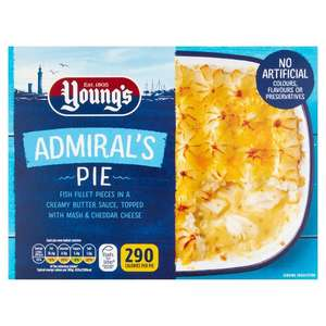 Young's Admiral's Pie 300g are 69p @ Farmfoods