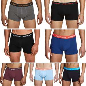 2 Pack Assorted Jack & Jones Boxers £7.99 Delivered From 5Poundstuff