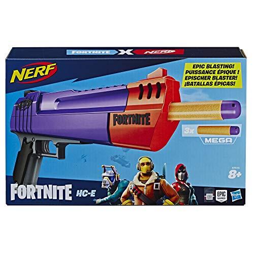 Nerf Fortnite HC-E Mega Dart Blaster £6.50 (Prime) / £10.99 (non Prime) at Amazon