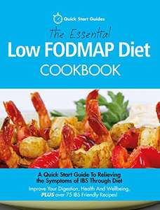The Essential Low FODMAP Diet Cookbook Kindle Edition FREE at Amazon