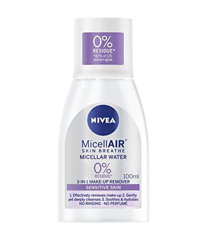 NIVEA MicellAIR Skin Breathe Micellar Water (100 ml) 95p (Prime) + £4.49 (non Prime) at Amazon