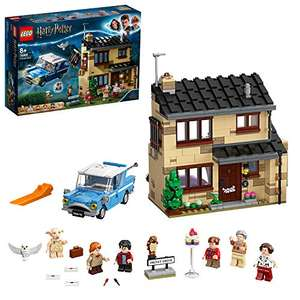 LEGO Harry Potter 75968 4 Privet Drive House Set with Ford Anglia £47.80 at Amazon