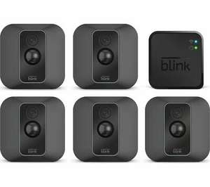 Blink XT2 Full HD 1080p WiFi Security System - 5 Cameras - £189.99 at Currys on Ebay