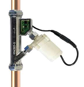 Automatic In Line Micro Pump 1.1 Bar for household low pressure water systems £96.34 @ Amazon
