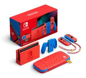 Nintendo Switch Mario Red & Blue Edition Console - £277.85 Delivered (Preorder) @ Shopto