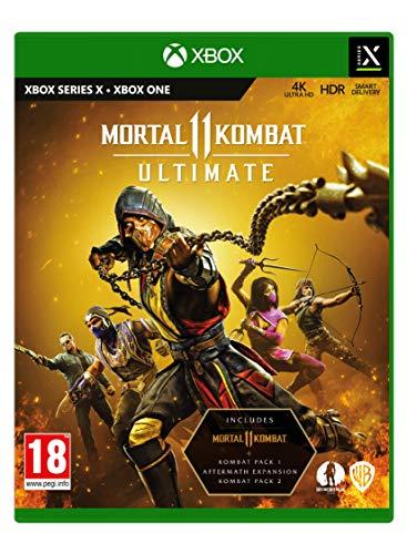 Mortal kombat 11 ultimate Xbox series X £27.99 at Amazon £22.99 with code