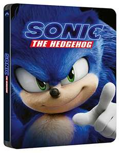 Sonic the Hedgehog Blu-Ray Steelbook £16.99 delivered - Sold by cinema24 and Fulfilled by Amazon Italy