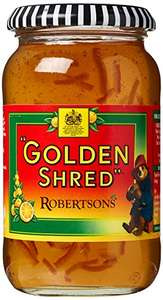 Robertsons Golden Shred Fine Cut Orange Jelly Marmalade 454 g (Pack of 6) £6 Prime / £10.49 Non Prime at Amazon