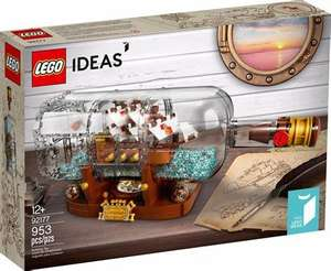 LEGO IDEAS 92177 Ship in a Bottle - £66.32 delivered @ Amazon Germany