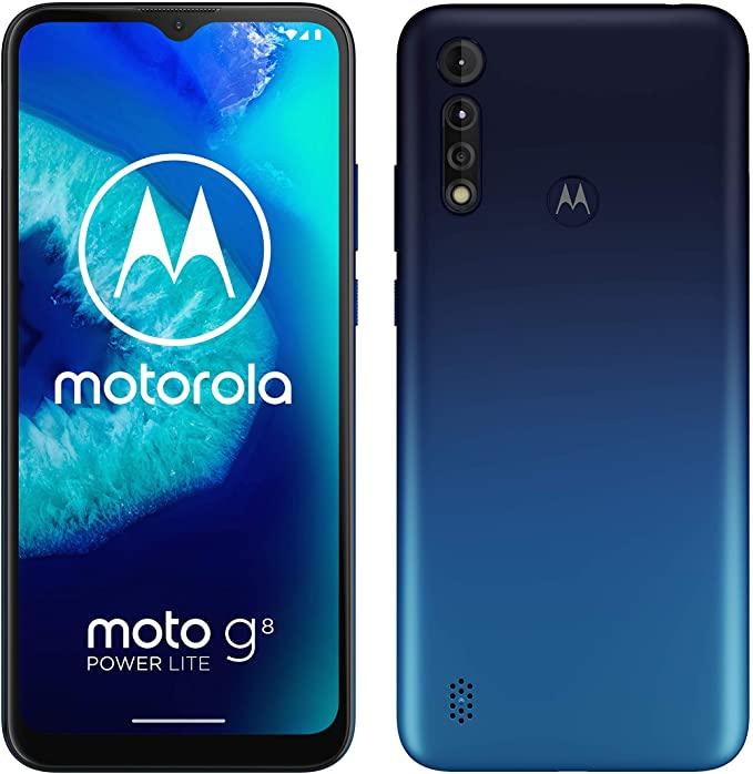 "Motorola Moto G8 Power Lite 64GB / 4GB (5000mAh, 6.5"" HD+, Dual-SIM) Royal Blue + 2 years guarantee - £99.99 delivered @ Currys PC World"