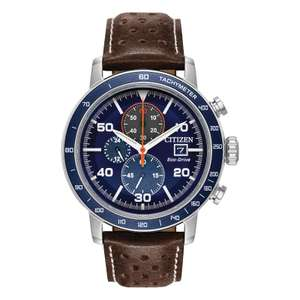 Men's Citizen Brycen Eco-Drive CA0648-09L Chronograph Watch £99.50 at John Lewis and partners