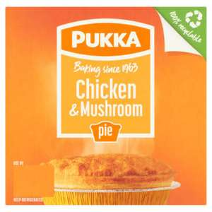 Pukka Pies (All Varieties) £1 (Min Basket / Delivery Charge Applies) @ Asda