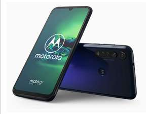 Motorola G8 Plus 64GB Cosmic Blue Smartphone - £119.99 + £10 Top Up @ EE (PAYG)