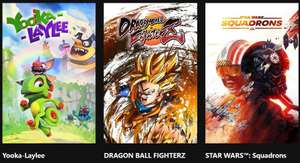 Free Play Days (requires Xbox Live Gold) - Yooka Laylee, Star Wars: Squadron, Dragonball FighterZ @ XBox