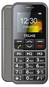 Emporia TELME C151 Space Grey - Unl Texts/Minutes - 1GB data / 24 months - £14pm (£3pm after cashback) @ Fonehouse