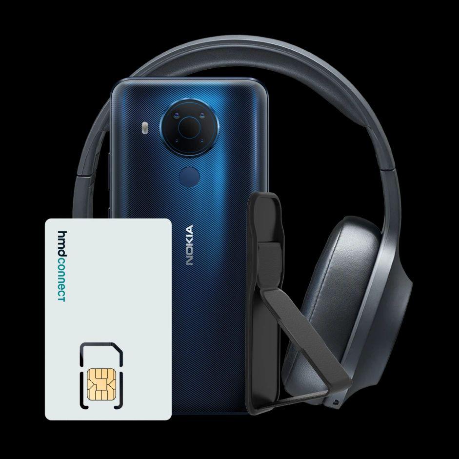 Nokia 5.4 64GB 4GB Smartphone + Headphones, Grip & Stand - £179.99 Delivered @ Nokia