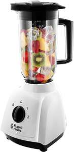 Russell Hobbs 24610 Plastic Jug Blender, 1.5 Litre Capacity and Two Speed Settings, 400 W, White £22 @ Amazon