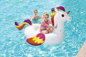 Bestway Inflatable Unicorn Pool Float Ride-On £7 (Prime) + £4.49 (non Prime) at Amazon