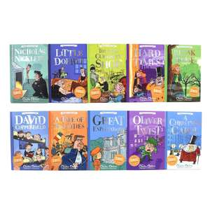 Charles Dickens Easy Classics 10 Books Collection - Ages 7-9 £13.99 Delivered @ books2door