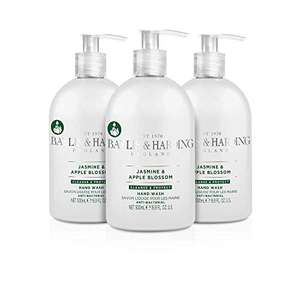 Pack of 3 - 500 ml Baylis & Harding Jasmine and Apple Blossom Anti-Bacterial Hand Wash - £4.50 Prime/+£4.49 Non Prime @ Amazon