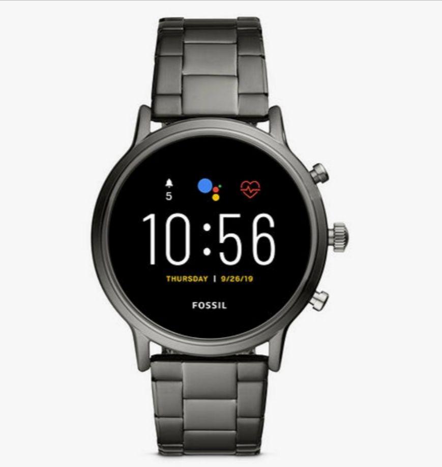 Fossil FTW4024 Men's Bracelet Strap Touch Screen Smartwatch, Grey/Black - £139.50 Delivered @ John Lewis & Partners