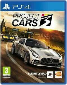 Project Cars 3 (PS4) £14.49 Delivered @ uk-tech-spares via eBay