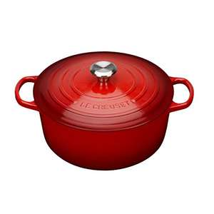 Le Creuset Signature Cast Iron 28cm Round Casserole (Cerise Red) £232 Amazon