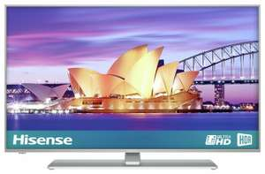 Hisense H55A6550UK 55 Inch 4K Ultra HD HDR Freeview Smart WiFi LED TV £273.99 at Argos on eBay