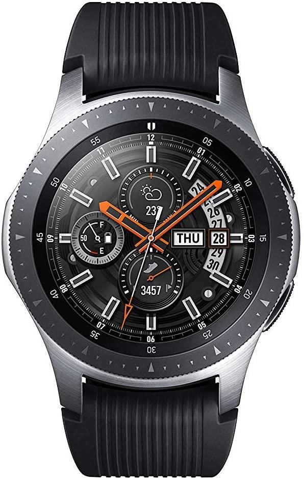 Samsung SM-R800NZSADBT Galaxy Watch 46 mm (Bluetooth), Silver - £126.03 (£122 Fee Card) Delivered @ Amazon Germany