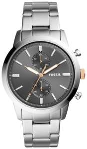 Fossil Townsman men's silver stainless steel bracelet watch for £53.94 delivered @ Argos