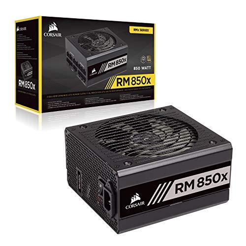 Corsair RM850x 80 PLUS Gold, 850 Watts, Fully Modular ATX Power Supply Unit - Black £125.00 at Amazon