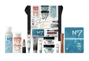 Half Price No7 Skincare Stars THE STAR OF THE SHOW Christmas Gift Set £40 & Free Delivery @ Boots