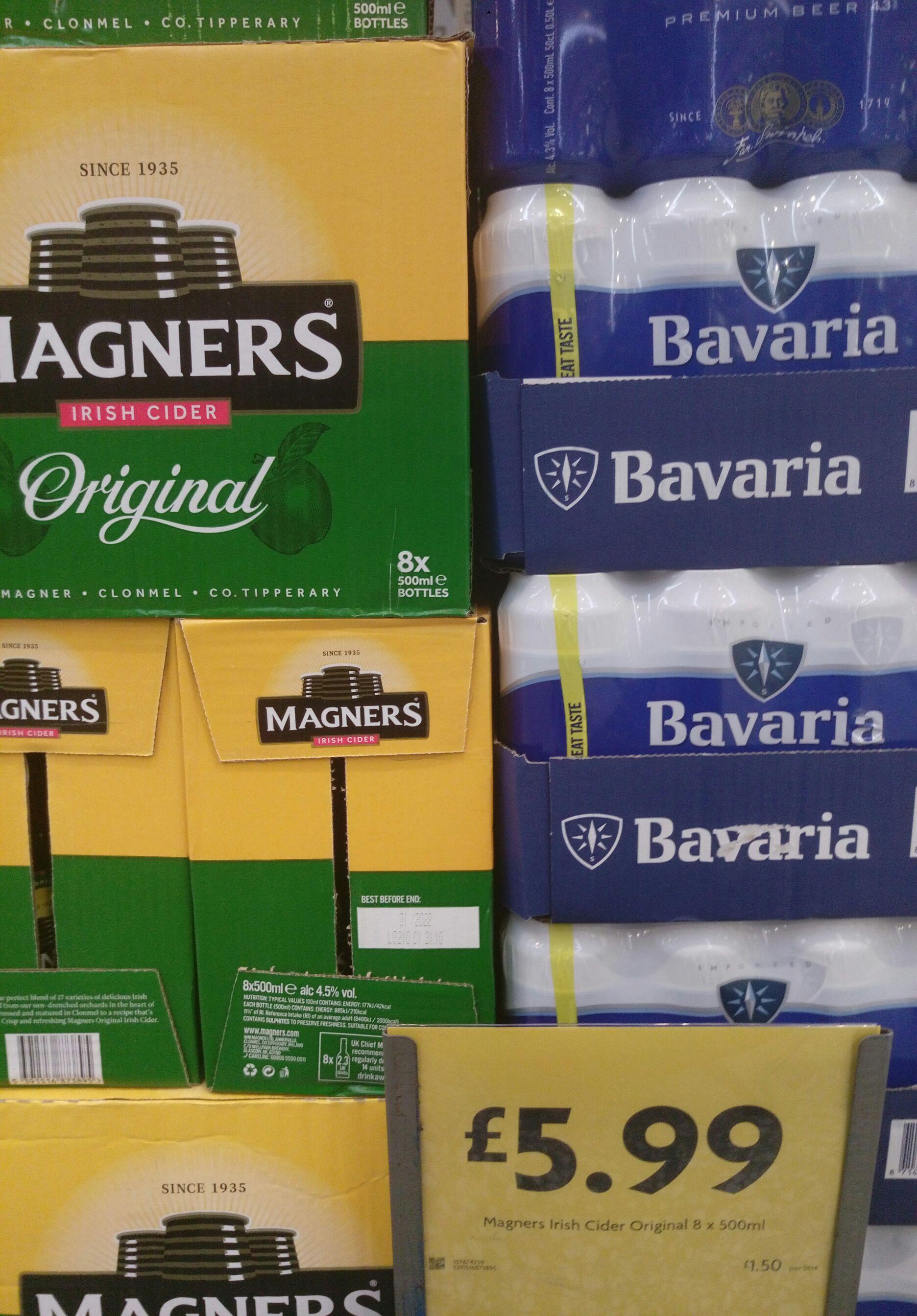 Magners 8 Bottle boxes of cider £5.99 instore @ Morrison's (Cheltenham)