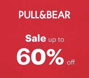 Pull&Bear - Sale up to 60% Off (£3.95 Home Delivery)