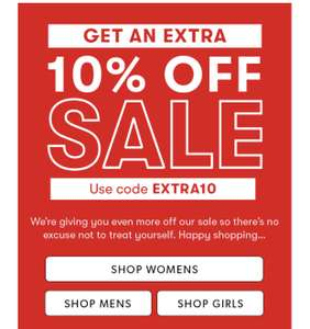 Extra 10% off sale items at New Look