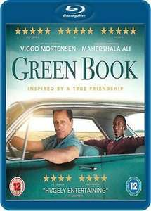 Green Book [Blu-ray] - very good condition - £4 delivered @ cinemadiso on eBay.co.uk