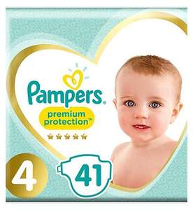 Pampers premium protection nappies and pants £2 + £3.50 delivery @ boots