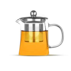 Glass Infuser Teapot | M&W 300ml £7.44 at Roov