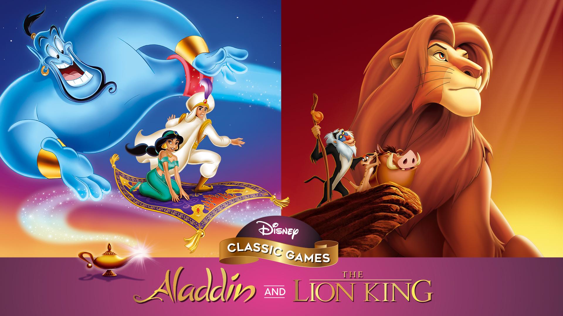 [Nintendo Switch] Disney Classic Games - Aladdin & The Lion King - £8.63 @ Nintendo eShop US