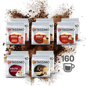 Tassimo Pods x160 - BEST OF BLACK COFFEE £32.18 at Tassimo Shop