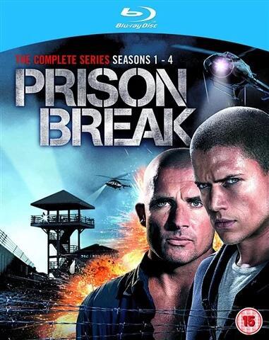 Prison Break Complete Season 1-4 Blu-ray - Used £13.95 delivered @ Cex